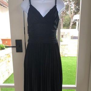 BCBGMaxAzria Black Georgette Camisole Dress